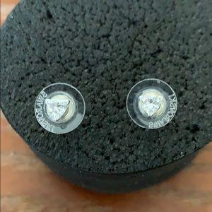Earrings  silver authentic Swarovski 🌺
